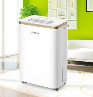 (Hàng có sẵn) Máy hút ẩm Dorosin 12L 24 giờ HD-201W công suất lớn- Hàng xuất Châu Âu-Bảo hành 1 năm thumbnail