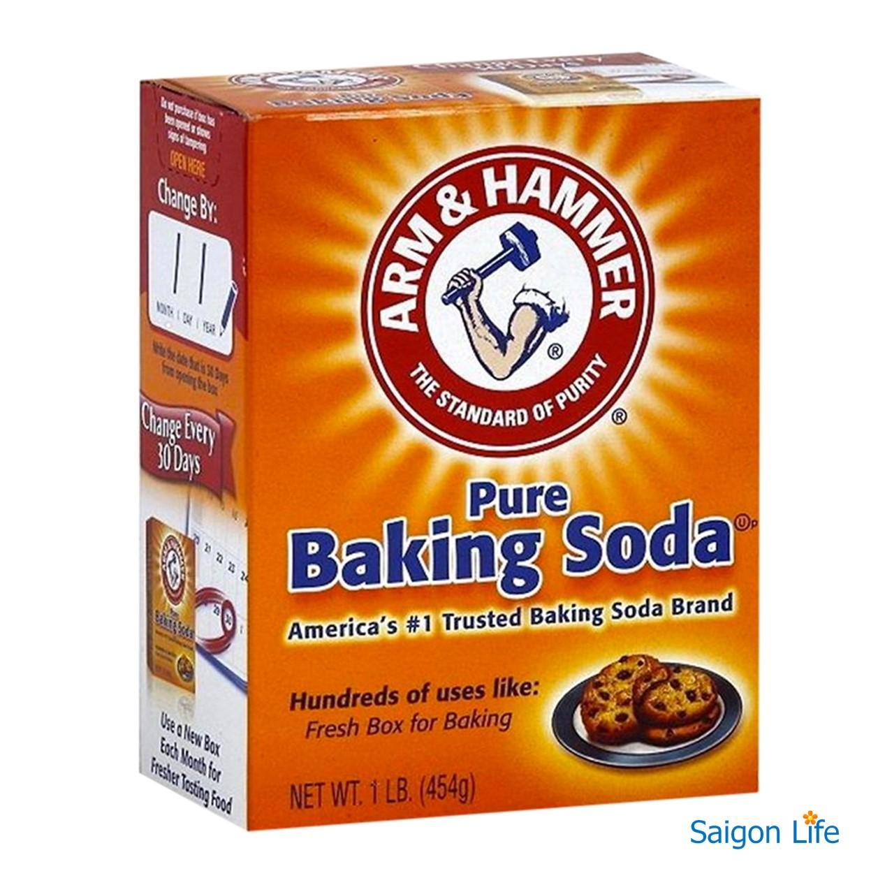 Bột Baking Soda Đa Công Dụng 454g Giá Cực Ngầu