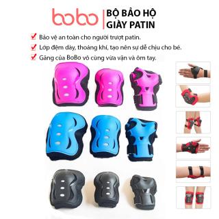 Đồ bảo hộ tay, đầu gối giày patin, ván trượt sử dụng cho các môn thể thao ngoài trời thi ch hơ p cho trẻ từ 4 đến 16 tuổi BoBo - P001 thumbnail