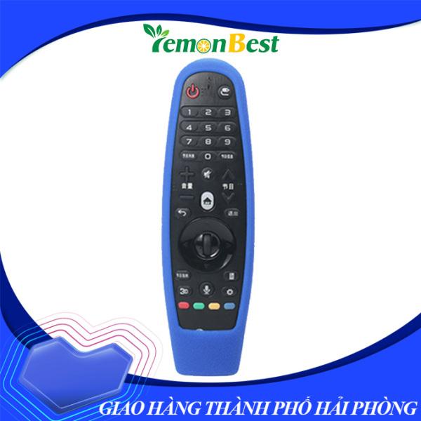 Lemonbest Shockproof Soft Silicone Remote Control Controller Dustproof Protective Cover Case for 3D Smart TV AN-MR600 Black
