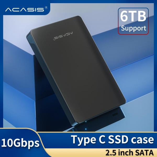 Bảng giá Acasis Loại C Vỏ Bọc Ổ Cứng USB C 2.5 Inch USB 3.1 Loại C Sang Ổ Đĩa Cứng Ngoài Sata Bộ Chuyển Đổi Vỏ Cho 2.5 Inch SATA I II III PS4 HDD SSD Lên Đến 10eb-intl Phong Vũ