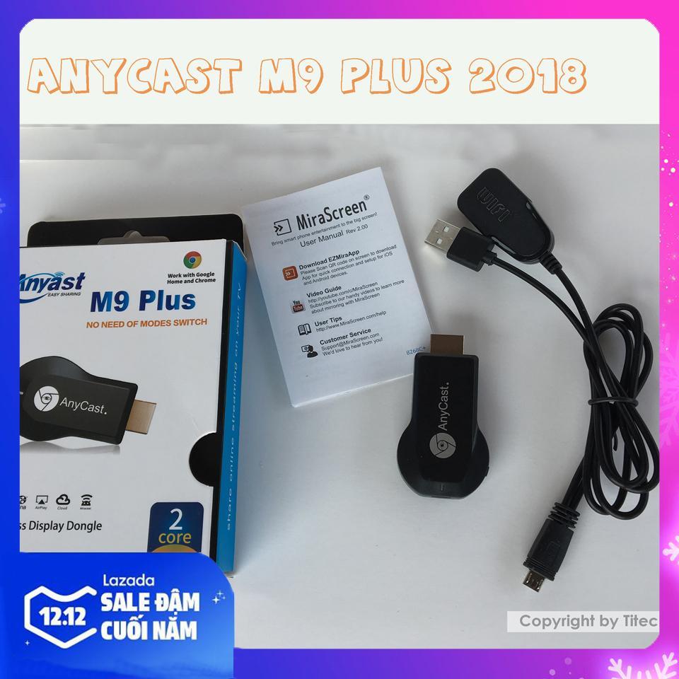 Bảng giá Anycast M9 Plus 2018 Full HD 1080P - HDMI không dây - Truyền tải màn hình điện thoại lên TV, máy chiếu Điện máy Pico