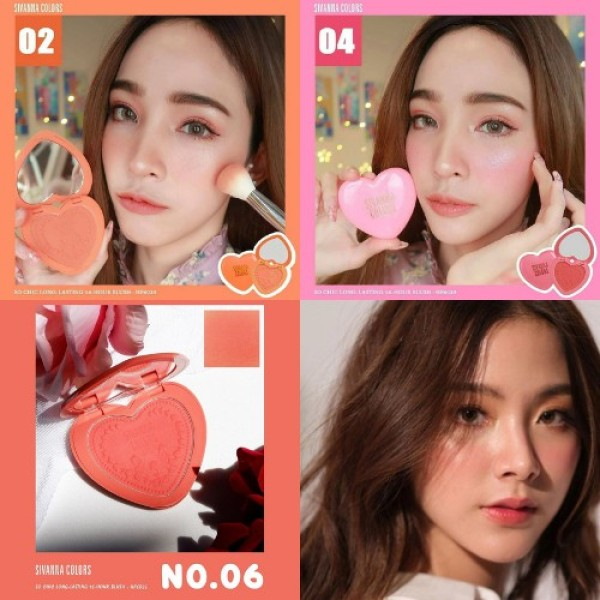 Phấn Má Hồng Sivanna Colors So Chic Long Lasting 16 House Blush HF6025 6g giá rẻ
