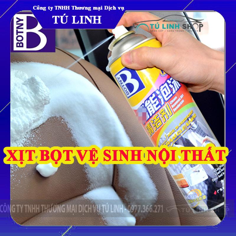 Chai xịt bọt vệ sinh nội thất ô tô Foam Cleaner