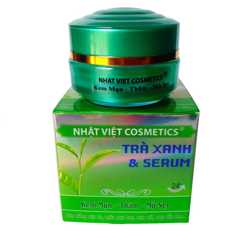Kem Trà Xanh Mụn, Xóa Thâm, Mờ Sẹo (13g) - Kim Ngan Cosmetics Co., Ltd