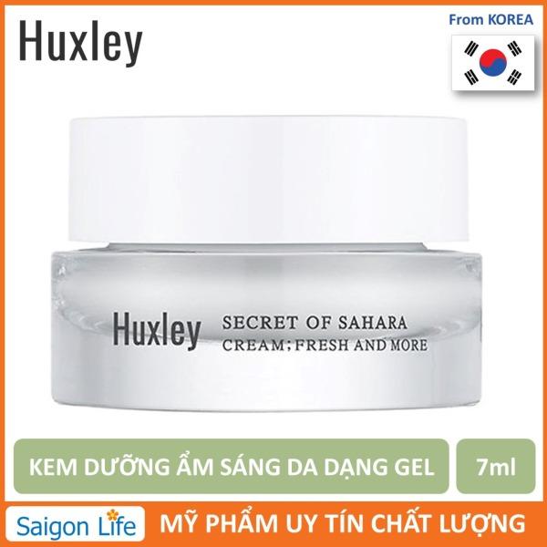 Kem Dưỡng Ẩm Dạng Gel Huxley Cream; Fresh and More 7ml giá rẻ