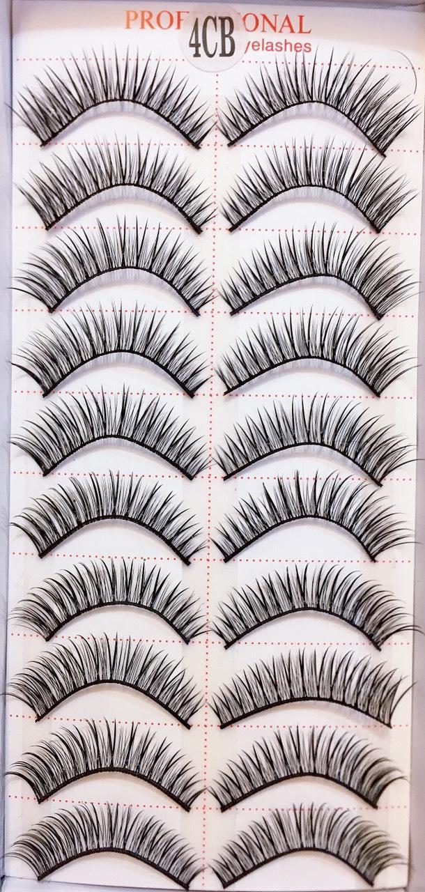 Lông Mi Giả Tự Nhiên Cho Nữ Siêu Đẹp, Lông Tơ Mềm Mươt Phong Cách Hàn Quốc Eyelashes 10 pairs ( 100% Material From Korea) tốt nhất