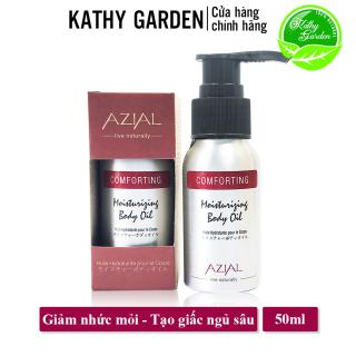 Tinh dầu massage body AZIAL Comforting Moisturizing Body Oil, dưỡng ẩm, làm dịu cơn đau cơ, cho giấc ngủ sâu thumbnail