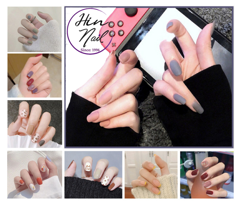[TẶNG 1 dũa + 1 lọ keo] Bộ 24 móng tay giả có keo sẵn dán móng - hàng cao cấp nghệ thuật chống nước - mong tay giả giá rẻ giá rẻ