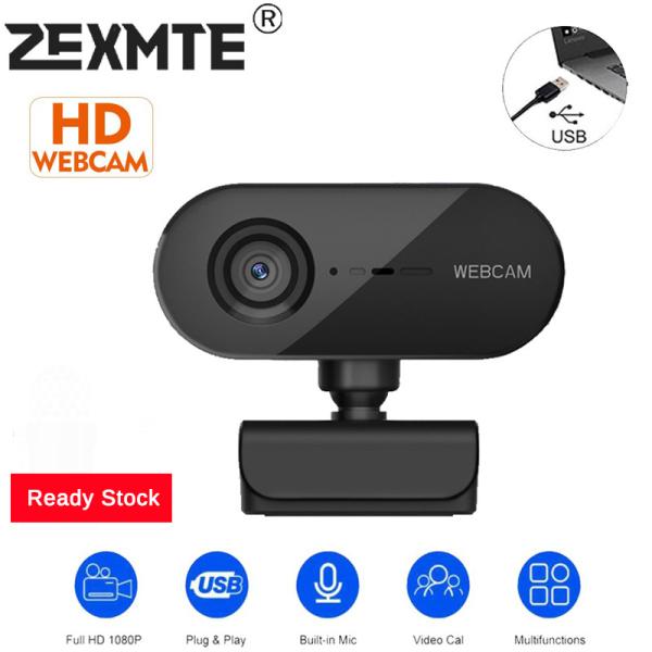 Bảng giá 【Sẵn Sàng Stock】Zexmte Webcam HD 2K Tự Động Lấy Nét 2MP Livestream 30 Khung Hình/GIÂY USB Webcam Cắm Và Phát Góc Rộng 360 ° Với Micrô Cho PC Máy Tính Xách Tay Để Bàn Phong Vũ