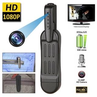 Camera dạng bút cài HD 950mAh quay liên tục 5h - Home and Garden thumbnail