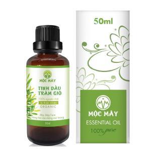 Tinh dầu Tràm 50ml Mộc Mây - tinh dầu nguyên chất từ thiên nhiên (có kiểm định bộ y tế, chất lượng và mùi hương vượt trội) thumbnail
