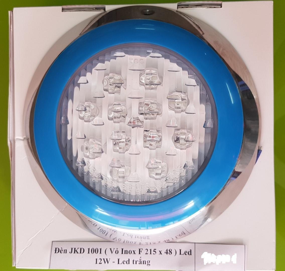 ĐÈN LED DƯỚI NƯỚC 12W-12V ánh sáng trắng dùng cho bể bơi hoặc hồ cá  hay âm tường sân vườn