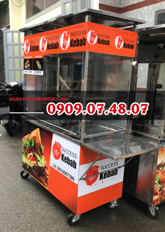 Bảng giá Xe bánh mì Thổ Nhĩ Kỳ 1m2 bảng hiệu Điện máy Pico