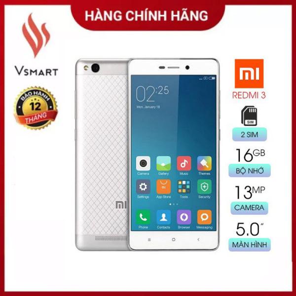 [Rẻ Hơn Hoàn Tiền] Điện thoại giá rẻ Xiaomi Redmi 3 (2GB/16GB) [Like New] - Chơi Liên Quân OK, Màn hình cảm ứng FullHD 5inch - Hàng Chính Hãng