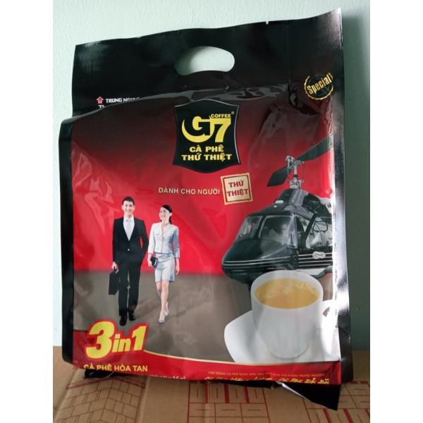 (Hàng tặng 1 gói) Cafe G7 3in1 Trung Nguyên bịch 50 gói