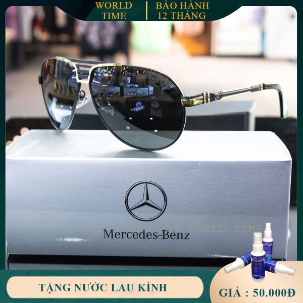 Giá bán Kính mát nam cao cấp Benz M1369 full box, thẻ bảo hành 12 tháng toàn quốc, tròng Polarized, chống chói, chống loá, chống tia UV400