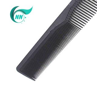 Lược Thẳng 2 đầu thưa 3 mm , dầy 1 mm , dài 17,4 cm x 2,5 cm Lược thường giá thành thấp ( đen ) phụ kiện cho tóc 5