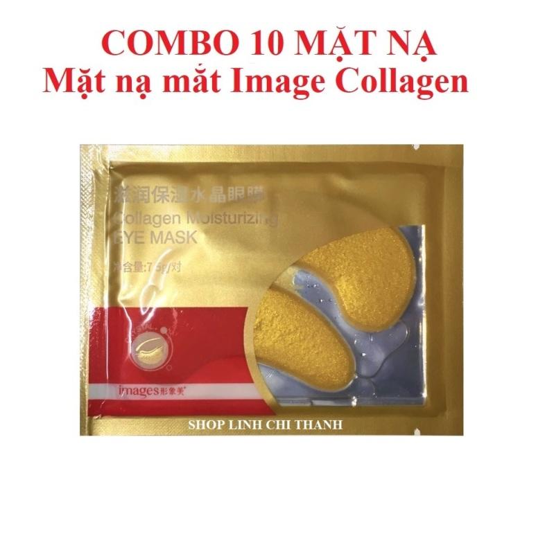 10 mặt nạ mắt thâm Collagen Trung nội địa