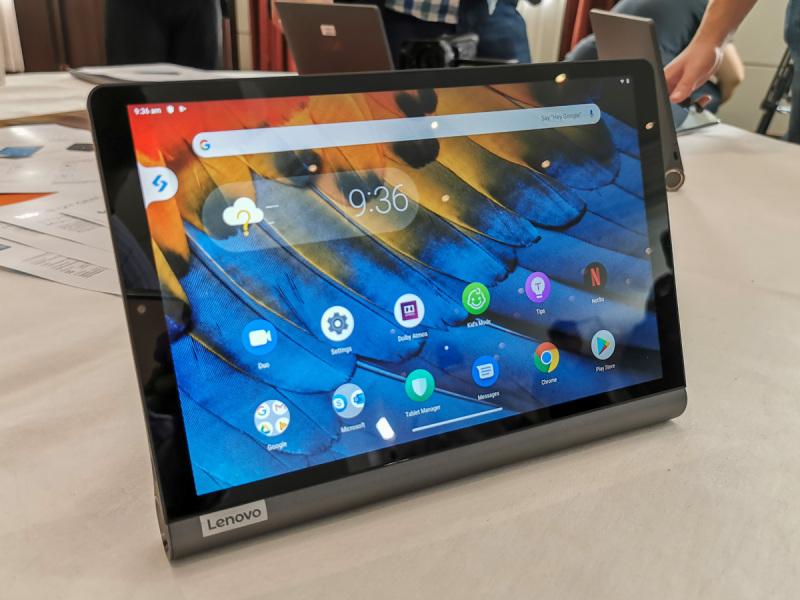 Máy Tính Bảng Lenovo Yoga Smart Tab 10.1inch - Android 9    Thiết kế độc đáo - đa năng    Học tập - Công việc - giải trí Tuyệt vời    Siêu cấu hình mượt mà    Giá rẻ chính hãng tại Zinmobile / mobile