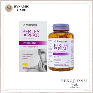 [Hàng chuẩn Pháp] Viên uống collagen và vitamin E đẹp da Arkopharma perles de peau hydraterend 200 viên thumbnail