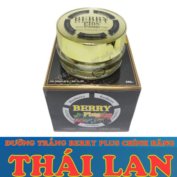 Kem dưỡng trắng da ban đêm giảm thâm nám Berry Plus Extra Whitening Thái Lan cao cấp