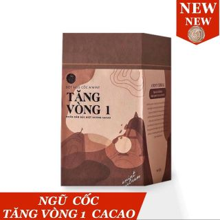 Ngũ cốc Tăng vòng 1 vị Cacao A mint (Tặng kèm quà + Cẩm nang + Thực đơn + Video hướng dẫn ấn huyệt) AMINT VIETNAM thumbnail