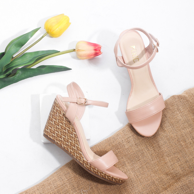 Giày Đế Xuồng 7cm Quai Mảnh Hở Gót Pixie X451 giá rẻ