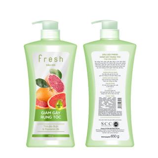 Dầu gội Fresh dưỡng tóc hư tổn giảm rụng tóc 650g - Hương Bưởi thumbnail