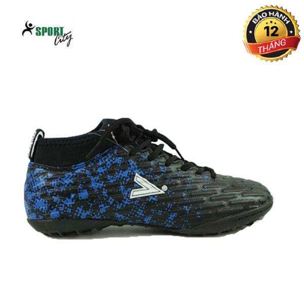 Giày đá bóng, giày đá banh, giày bóng đá, giày thể thao MITRE 170501 màu xanh phối đen đẳng cấp sân cỏ, chắc chắn và ôm chân, giảm tối đa chấn thương dành cho nam giá rẻ