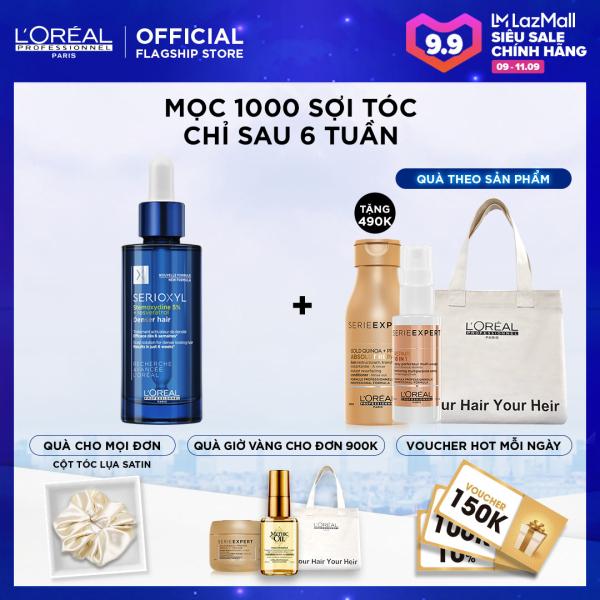 Tinh chất hỗ trợ mọc tóc LOreal Professionnel Serioxyl Denser Hair 90ml