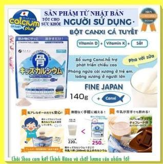 Sữa Bột Canxi Cá Tuyết Nhật Bản 140g hổ trợ phát triển chiều cao cho trẻ thumbnail