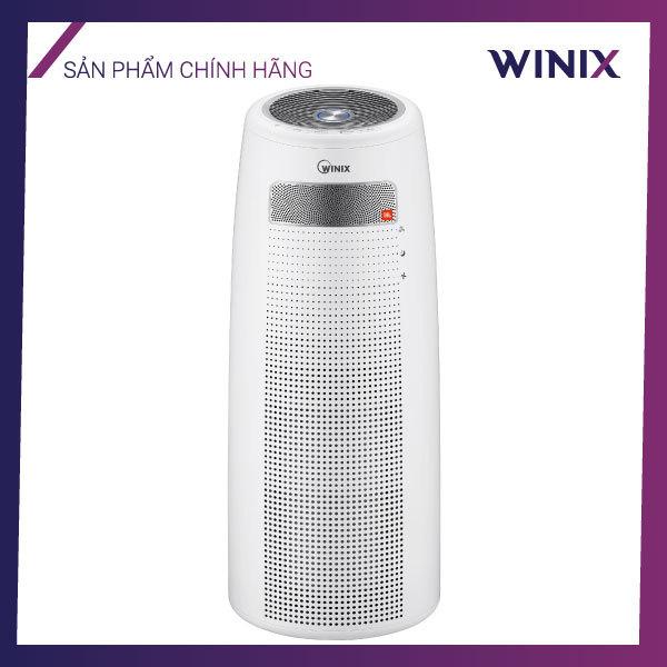 Máy lọc không khí Winix Tower QS, cảm biến chất lượng không khí thông minh, công nghệ diệt khuẩn Plasmawave