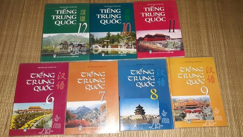 Mua Bộ sách giáo khoa tiếng Trung Quốc lớp 6-12 (tặng 7 ebook ảnh sách giáo viên lớp 6-12 + 1 ebook PPCT)