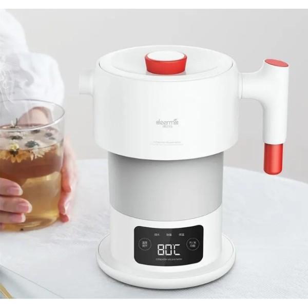Ấm siêu tốc du lịch Youpin Deerma mutifuctional folding kettle DEM-DH206