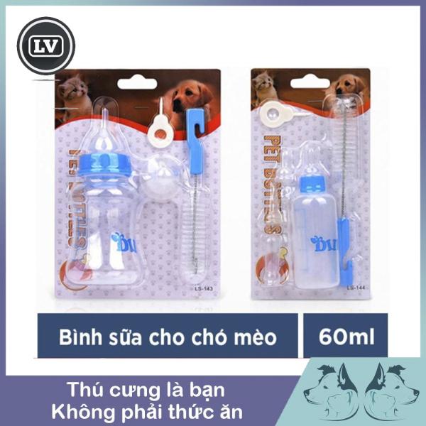 Bình ti sữa dành cho chó mèo con Pet Bottles 60ml