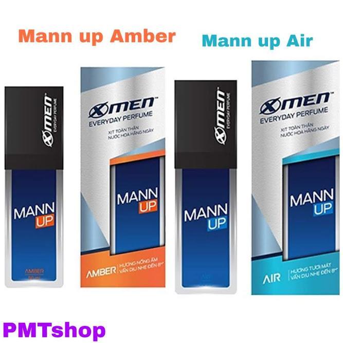 Xịt nước hoa hằng ngày nam X-Men 50ml Everyday Perfume Mann Up Air Amber - Xmen