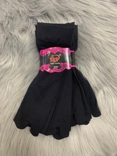 [HCM]Combo 10 đôi vớ nữ màu đen xỏ ngón thun cotton thương hiệu T&T - TRỊNH TRUNG ảnh thật thumbnail