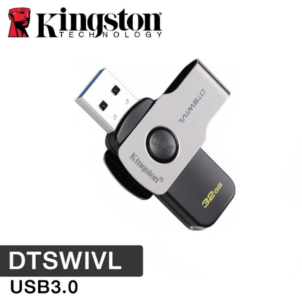 Bảng giá USB Kingston 32GB Data Traveler DT SWIVL USB 3.0 Xoay 360 độ- BH Chính hãng 5 Năm Phong Vũ