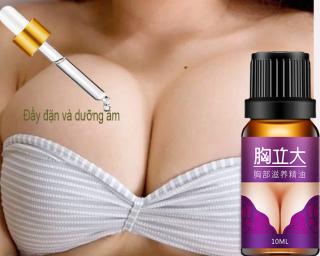 Tinh Dầu Nở Ngực Tăng 1 Hiệu Quả nhanh chóng, giúp ngực săn chắc, tinh dầu chiết xuất từ tự nhiên dùng cho ngực xệ sau sinh, tinh dầu chiết xuất tự nhiên nâng ngực nở ngực hiệu quả 10ml. thumbnail