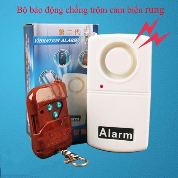 Thiết bị chống trộm, báo động chống trộm cảm biến rung,  bộ chống trộm cảm biến rung, thiết bị chống trộm gia đình, chuông báo động chống trộm