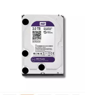 Ổ cứng HDD 3000G (3TB) Western Purple, Chuyên dùng cho camera , lưu trữ dữ liệu - Bảo hành 24 tháng 1 đổi 1 (HÀNG CÓ SẴN) thumbnail