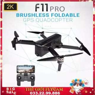 [ COMBO 2 PIN ] Flycam SJRC F11 PRO bản nâng cấp của SJRC F11 - Camera 2K - Bay 25 Phút - 2 GPS - Khoảng cách điều khiển 1.2KM - Động cơ không chổi than