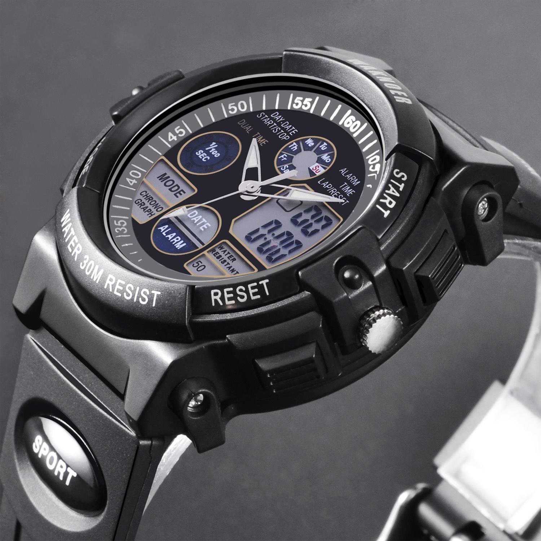 Đồng hồ thể thao nữ WAKNOER, dây silicone WA001 màu đen nguyên bản bán chạy