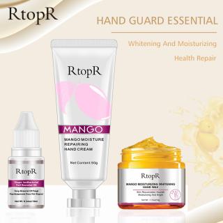 Bộ chăm sóc dưỡng da tay RtopR chiết xuất xoài gồm kem dưỡng ẩm phục hồi + sáp dưỡng ẩm làm trắng - INTL thumbnail