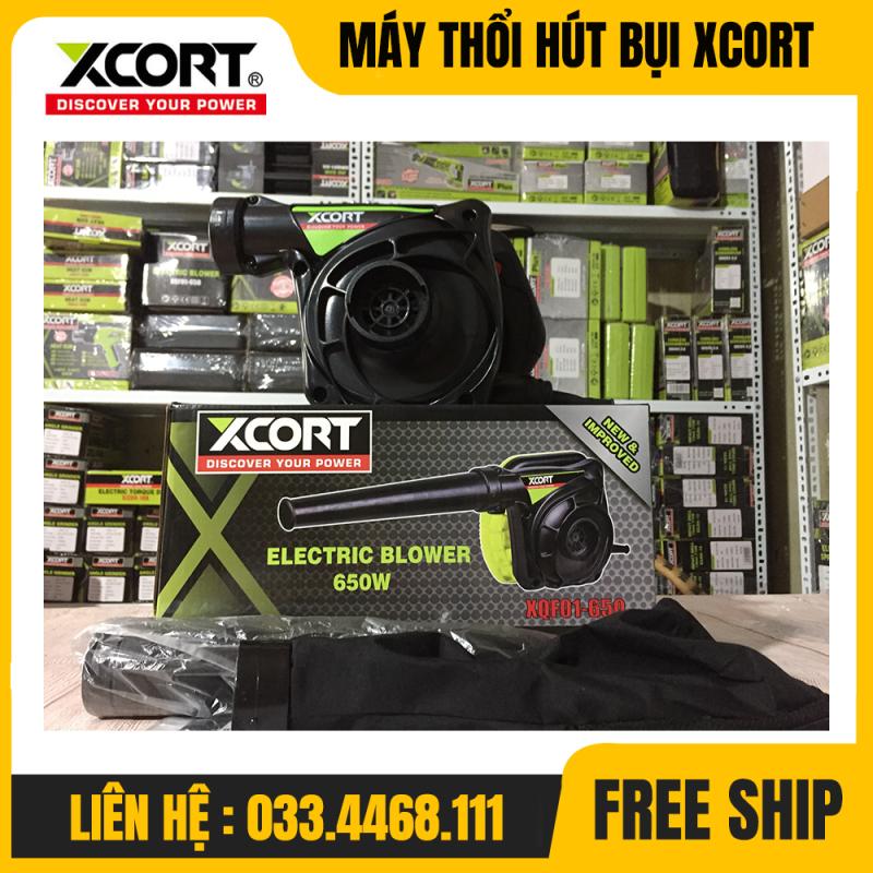 MÁY THỔI BỤI-MÁY THỔI BỤI XCORT 650W-MÁY HÚT BỤI XCORT 650W