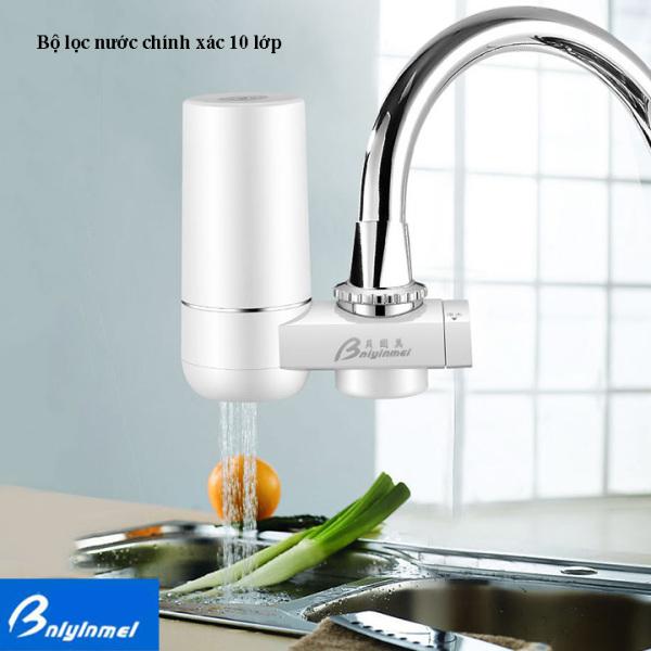 Bảng giá Đầu lọc nước tại vòi - Máy lọc nước tại vòi Bniyinmei QX-L288 - 10 lớp lọc có nhiều đầu nối phù hợp với đa số kích cỡ vòi nước gia đình Điện máy Pico