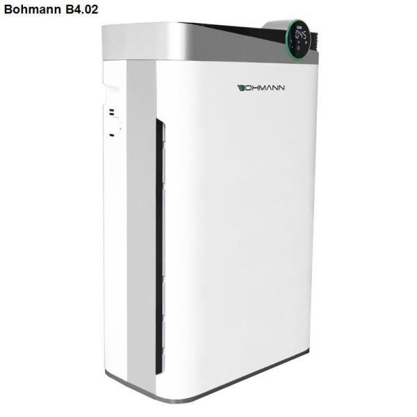 Máy lọc không khí khử mùi, bù ẩm, diệt khuẩn, tạo ion âm BOHMANN B4.02