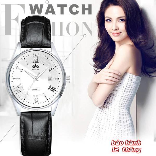 Nơi bán Đồng hồ nữ BOSKINE JAPAN Máy Nhật Bản - Lịch Ngày Thời Thượng - Bảo Hành 12 Tháng Toàn Quốc