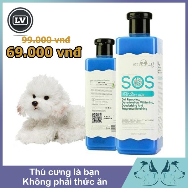 Sữa Sắm SOS Dành Cho Chó Lông Màu Trắng 530ml - Phụ Kiện Thú Cưng Long Vũ